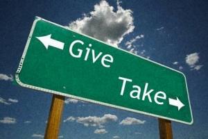 geven nemen